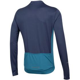 PEARL iZUMi Quest Fietsshirt lange mouwen Heren blauw/turquoise